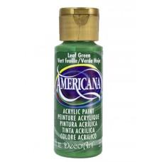 Decoart Americana Acrylic Paint - Leaf Green 2oz Decoart Americana Acrylic Paints