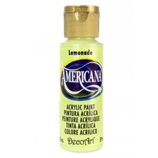 Decoart Americana Acrylic Paint -  Lemonade 2oz Decoart Americana Acrylic Paints