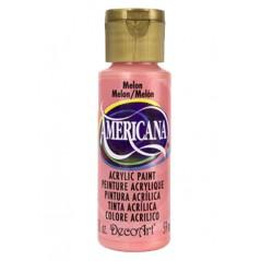 Decoart Americana Acrylic Paint -  Melon 2oz Decoart Americana Acrylic Paints