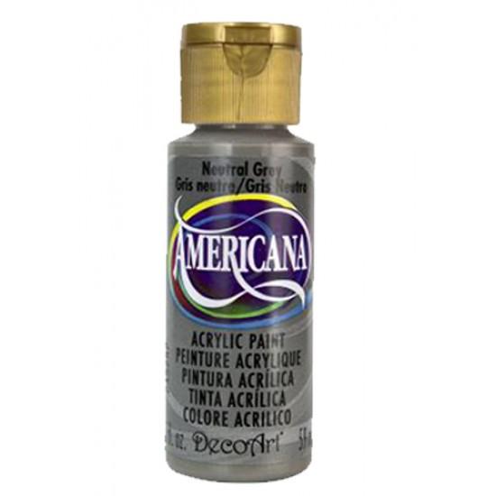 Decoart Americana Acrylic Paint - Neutral Grey 2oz Decoart Americana Acrylic Paints