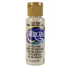 Decoart Americana Acrylic Paint -  Oyster Beige 2oz Decoart Americana Acrylic Paints