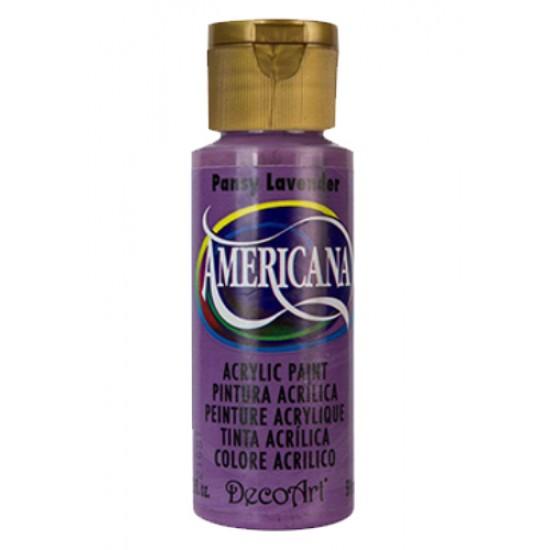 Decoart Americana Acrylic Paint -  Pansy Lavender 2oz