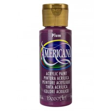 Decoart Americana Acrylic Paint -  Plum 2oz Decoart Americana Acrylic Paints