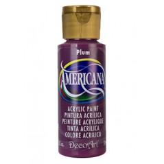Decoart Americana Acrylic Paint -  Plum 2oz Decoart Americana Acrylic Paints