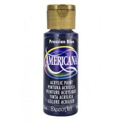 Decoart Americana Acrylic Paint -  Prussian Blue 2oz Decoart Americana Acrylic Paints