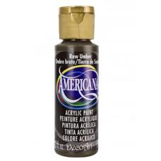 Decoart Americana Acrylic Paint - Raw Umber 2oz Decoart Americana Acrylic Paints