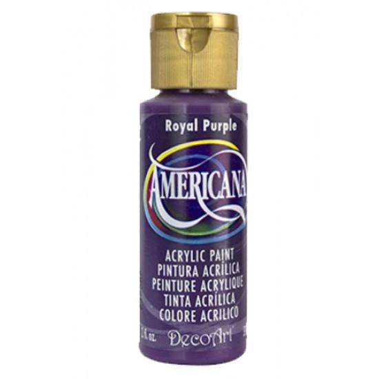 Decoart Americana Acrylic Paint -  Royal Purple 2oz