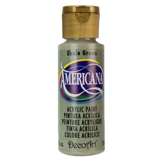 Decoart Americana Acrylic Paint -  Shale Green 2oz Decoart Americana Acrylic Paints