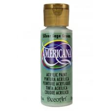 Decoart Americana Acrylic Paint -  Silver Sage 2oz Decoart Americana Acrylic Paints