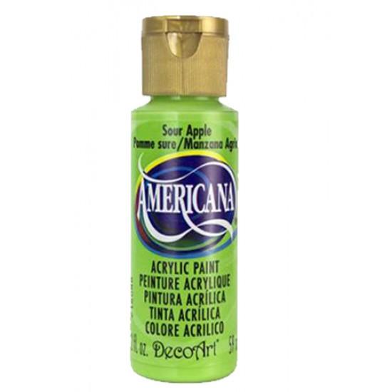 Decoart Americana Acrylic Paint - Sour Apple 2oz Decoart Americana Acrylic Paints