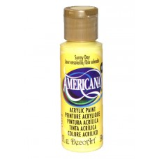 Decoart Americana Acrylic Paint -  Sunny Day 2oz Decoart Americana Acrylic Paints