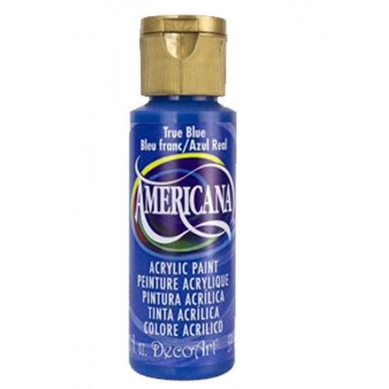 Decoart Americana Acrylic Paint - True Blue 2oz Decoart Americana Acrylic Paints