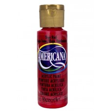Decoart Americana Acrylic Paint - True Red 2oz Decoart Americana Acrylic Paints