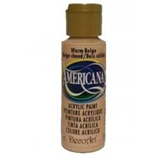 Decoart Americana Acrylic Paint -  Warm Beige 2oz Decoart Americana Acrylic Paints