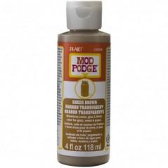 Mod Podge Sheer Color / Colour Brown 4oz 118ml