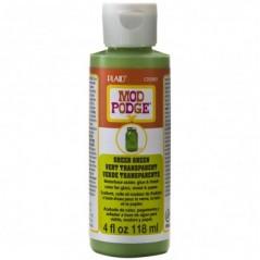 Mod Podge Sheer Color / Colour Green 4oz 118ml
