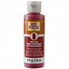 Mod Podge Sheer Color / Colour Red 4oz 118ml