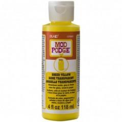 Mod Podge Sheer Color / Colour Yellow 4oz 118ml