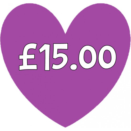 Special Order Item £15.00 Special Order Items