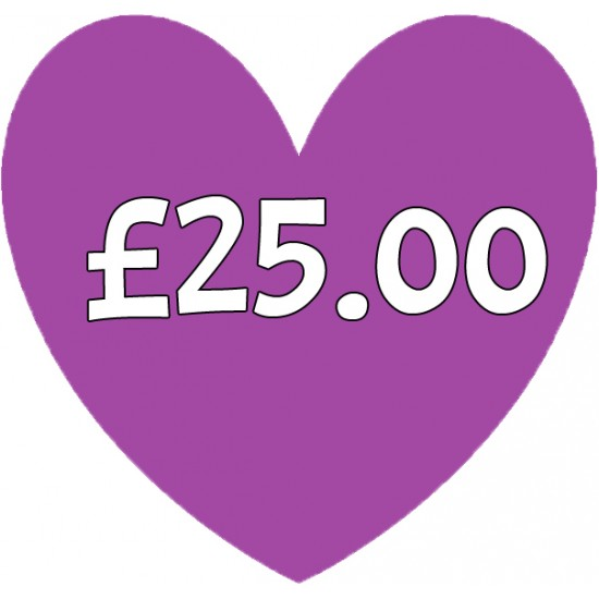 Special Order Item £25.00 Special Order Items