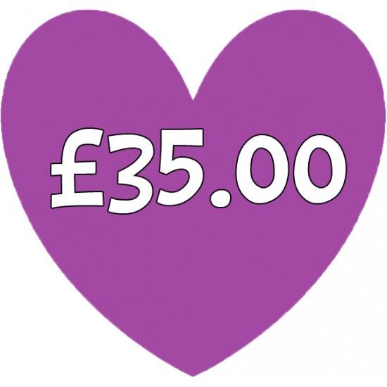 Special Order Item £35.00