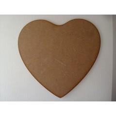 3mm MDF Fuller Heart (singles) Hearts