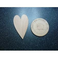 3mm MDF Primitive Heart Hearts