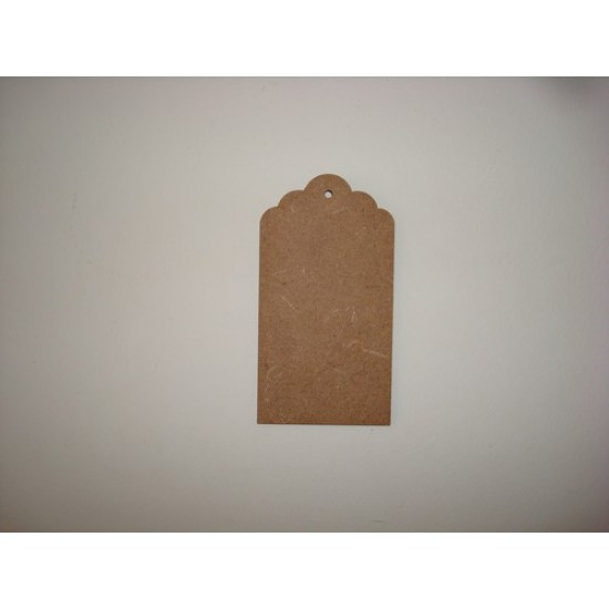 3mm MDF Gift Tag 1 Tags