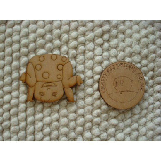 3mm MDF Tumble Tot Baby Shapes