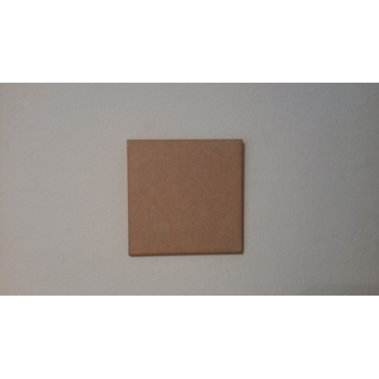 Small Square off cuts (pack of 10) Basic Plaque Shapes