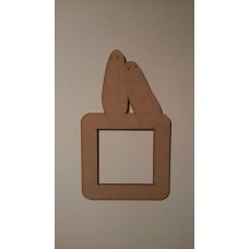 3mm MDF Ballet Shoes Light Surround  Light Switch Surrounds