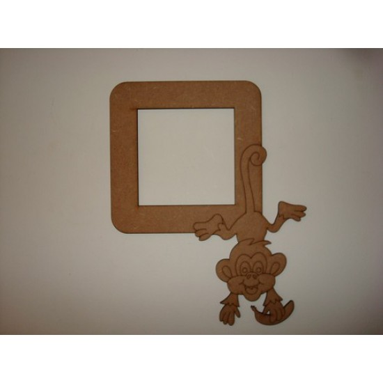 3mm MDF Cheeky Monkey Light Surround  Light Switch Surrounds