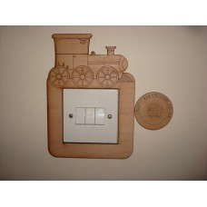 3mm MDF Steam Train Light Surround  Light Switch Surrounds