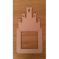 3mm MDF Boy Castle light surround Light Switch Surrounds
