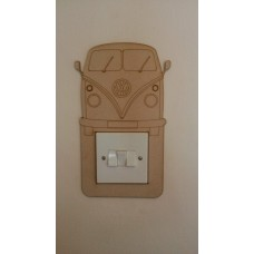 3mm MDF Campervan light surround Light Switch Surrounds