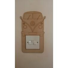 3mm MDF Campervan light surround Light Switch Surrounds