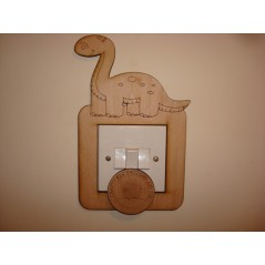 3mm MDF Dino Light Surround  Light Switch Surrounds