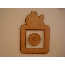 3mm MDF Fishy Wishy Light Surround  Light Switch Surrounds