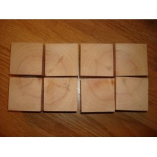Cubed Wooden Blocks (3 sizes) Wooden Blocks, Tea Lights and Stacking Block Sets