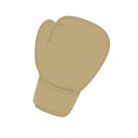 Boxing Glove (Pack of 5)(4cm) Small MDF Embellishments