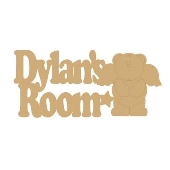 3mm MDF Character Name Plaques Room & Door Plaques