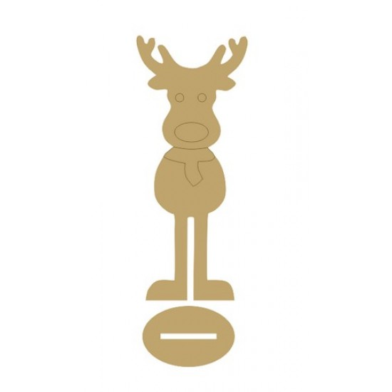 4mm MDF Daddy Reindeer - Freestanding Christmas Shapes