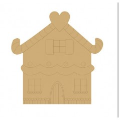 3mm MDF Fairytale House (pack of 5)