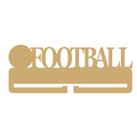Football Small MDF Embellishments