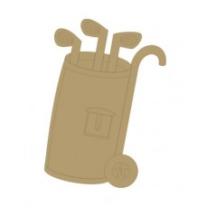 Golf Bag Small MDF Embellishments