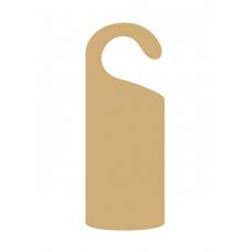 MDF, Oak or Acrylic Hook Door Hanger Door Hangers