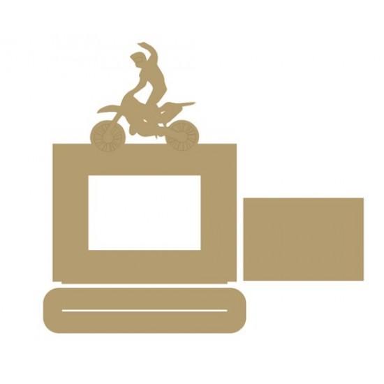 Motorcross/Motobike Photo Frame Photo Frames