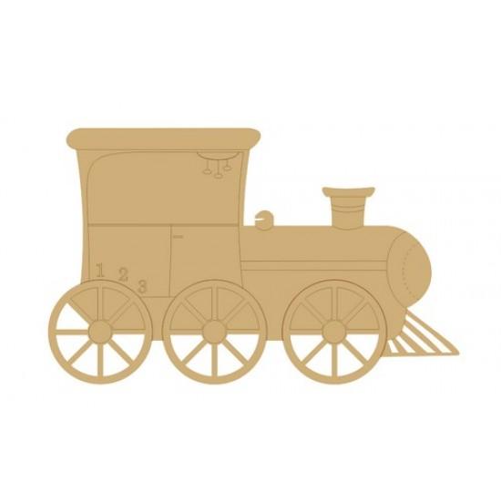 3mm MDF Steam Train Transport
