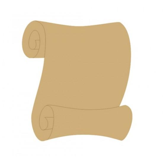 Scroll 2 (princess scroll) Basic Plaque Shapes