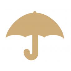 3mm mdf Umbrella Small MDF Embellishments